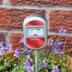 Soil acidity meter